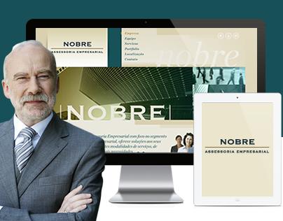 Web Site Nobre Empresarial