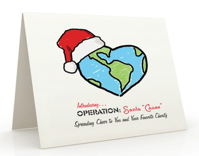 Holiday Greeting Card to Customers