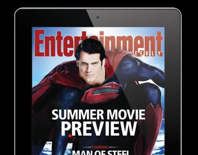 Entertainment Weekly iPad magazine