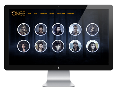 ABC's Once Upon a Time Website