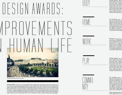 Index Award: Designs to improve human life