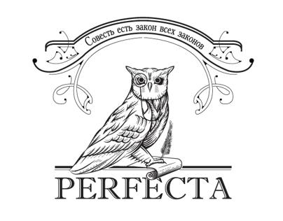 Logo & site for company PERFECTA