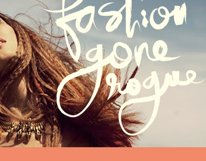 WEBSITE: Fashion Gone Rogue Redesign