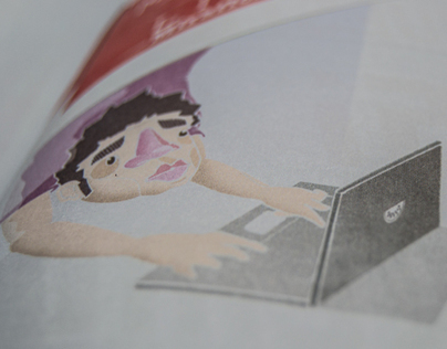 Illustration for Yorokobu magazine nº 33.