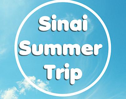 Sinai Summer Trip Poster