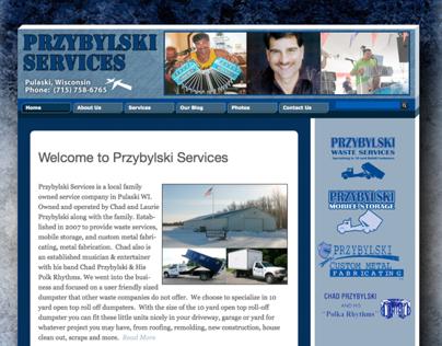 New Website - Przybylski Services - Pulaski, Wisconsin