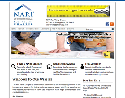National Assoc of the Remodeling Industry - Fox Valley