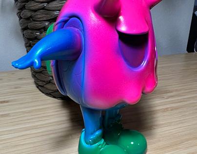 Candy Eggie Vinyl Toy