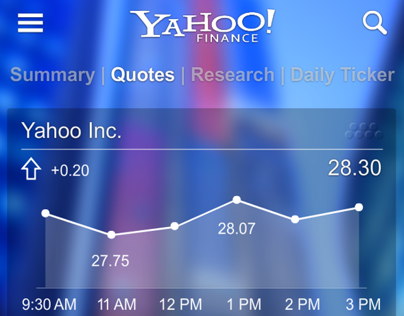 Yahoo! redesigns (Personal)