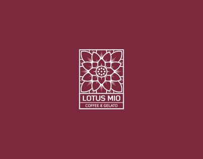 Graphic Standard Manual of Lotus Mio Coffee & Gelato