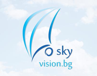 """Logo for company """"SkyVision.bg"""""""