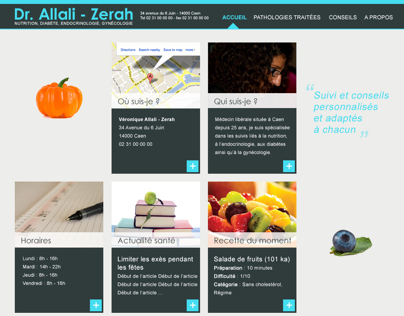 Design site médical