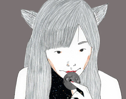 Moon-crater cookie