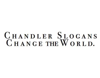 R. Chandler Immortal Tag Lines