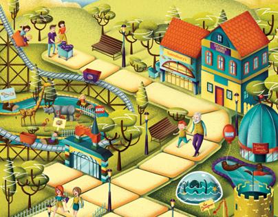 Sainsbury's Illustration
