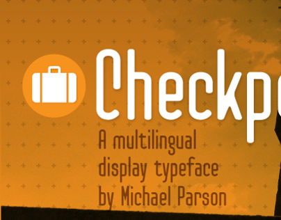 Checkpoint typeface