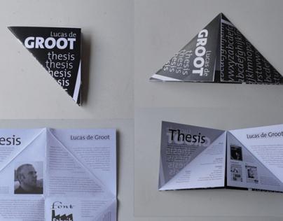 Leaflet - typefont thesis