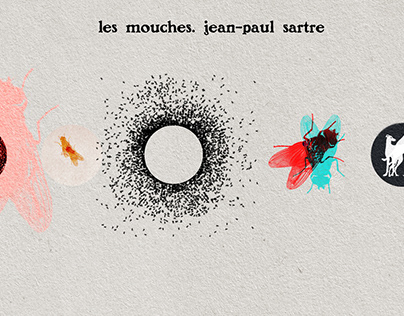 Les Mouches. Jean-Paul Sartre