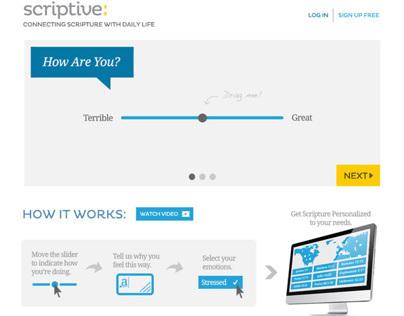 Scriptive Web Design