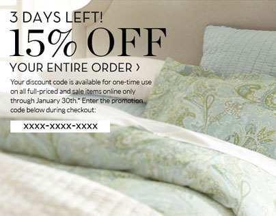 Pottery Barn Email Marketing