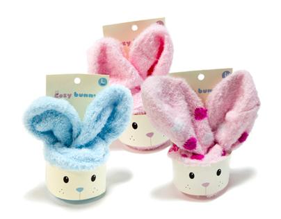 Cozy Bunny / Package Design / Socks Packaging
