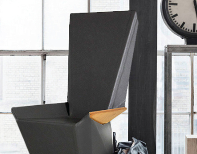 Flat Stanley Origami Chair