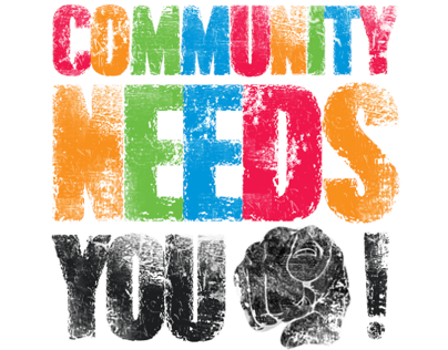 'The Community Needs You!' Poster