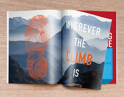 Merrell Ad Campaign