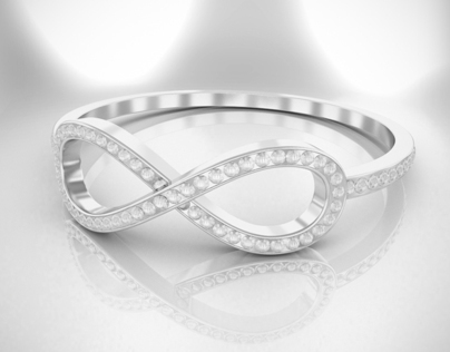 Tiffany's Infinity ring
