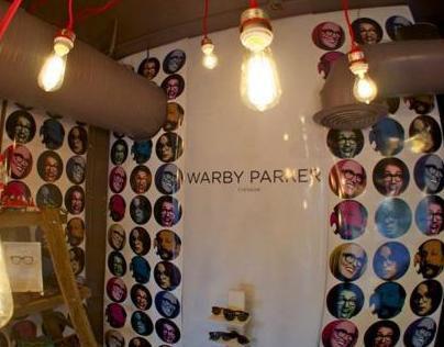 Warby Parker Retail Display For Milk Bar Columbus