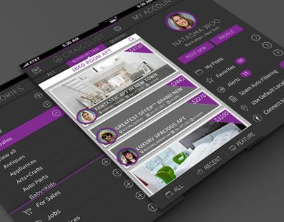 Craigslist App Concept Design