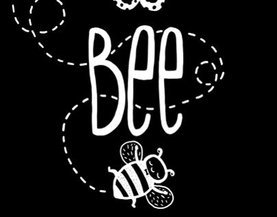 """""""Let it bee"""" print"""