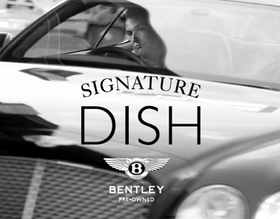 bentley — signature dish event