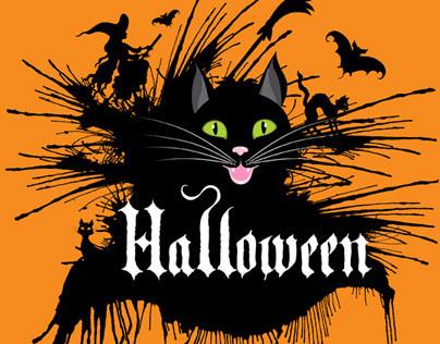 Vector illustrations / Halloween