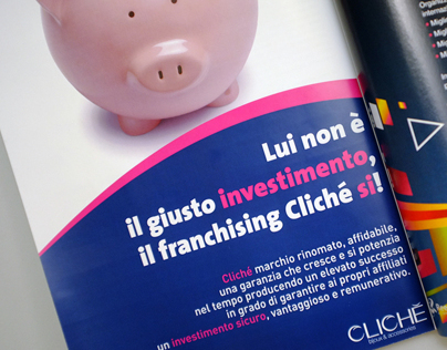 Clichè | Advertising for franchising project