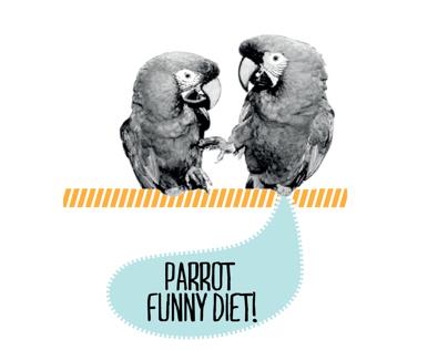 Parrot Funny Diet