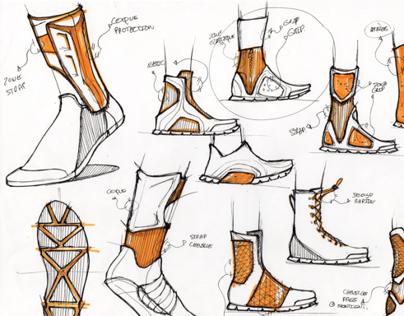 Bull Original_Hand Sketches_Footwear