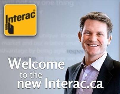 Interac Responsive Website Design