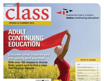 Adult Continuing Education Spring 2012 Supplement