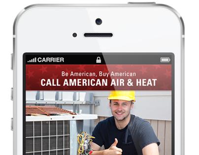 Mobile Website: American Air & Heat