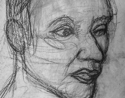 AART 305Y-Intermediate Drawing Day #18