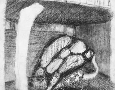 AART 305Y-Intermediate Drawing Day #6