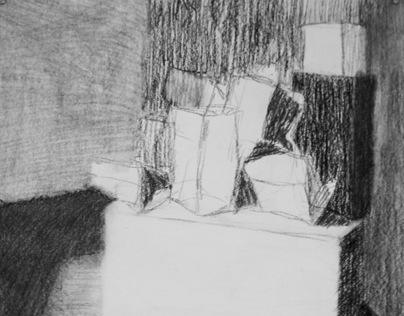 AART 305Y-Intermediate Drawing Day #4