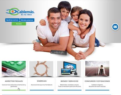 Intranet para proveedores Cablemás