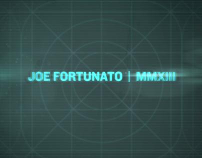 Joe Fortunato Demo Reel   |   2014