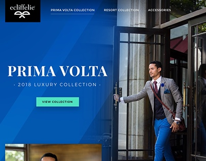 Fashion Landing Page Concept