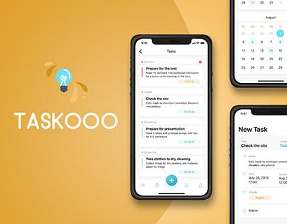 Taskoo | Task Manager | Mobile App