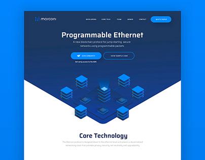 Marconi // Diseño Web // UI // Ilustración