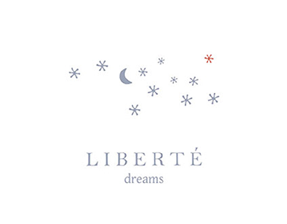 "BRAND VISUAL IDENTIFICATION FOR ""LIBERTE DREAMS"""