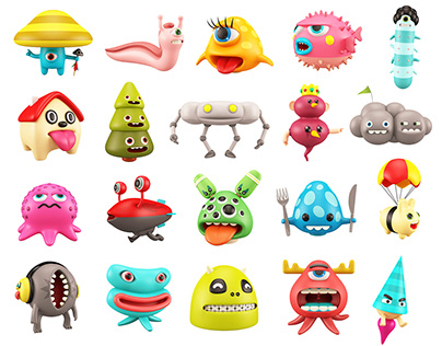 Characters' Totems